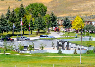 South Lincoln Cemetery District Veterans Memorial – Kemmerer, WY