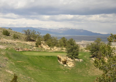 """Antelope Ridge Golf Course, Hole #6 – Meeteetse, Wyoming"
